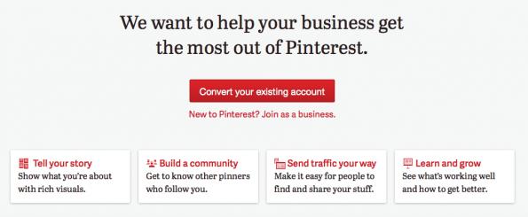 Pinterest zakelijk
