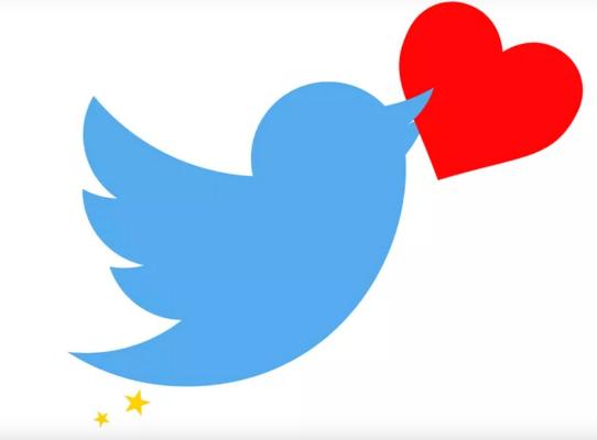 Hartjes op twitter