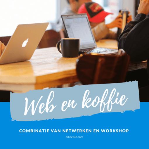 web en koffie