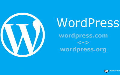 Het verschil tussen WordPress.com en WordPress.org