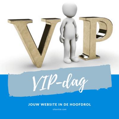 VIP-dag Sitevisie