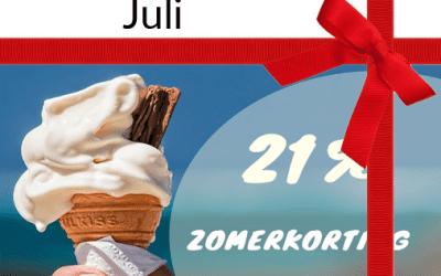 Sitevisie 10 jaar – cadeau juli 21procent btw-korting