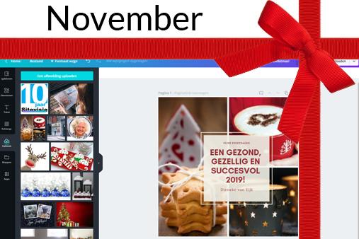 Sitevisie 10 jaar – cadeau november – minicursus canva