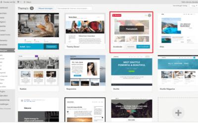 Ongebruikte WordPress thema's verwijderen