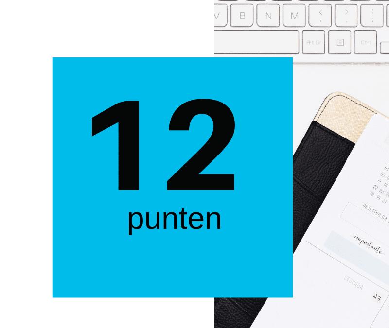 12 punten om je website te checken en te verbeteren