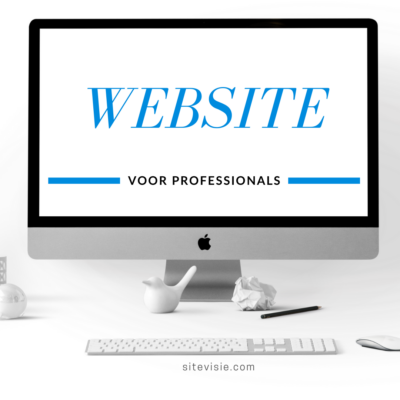 website voor professionals