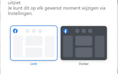 Weer een nieuw uiterlijk voor Facebook
