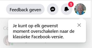 nieuw uiterlijk Facebook 2020