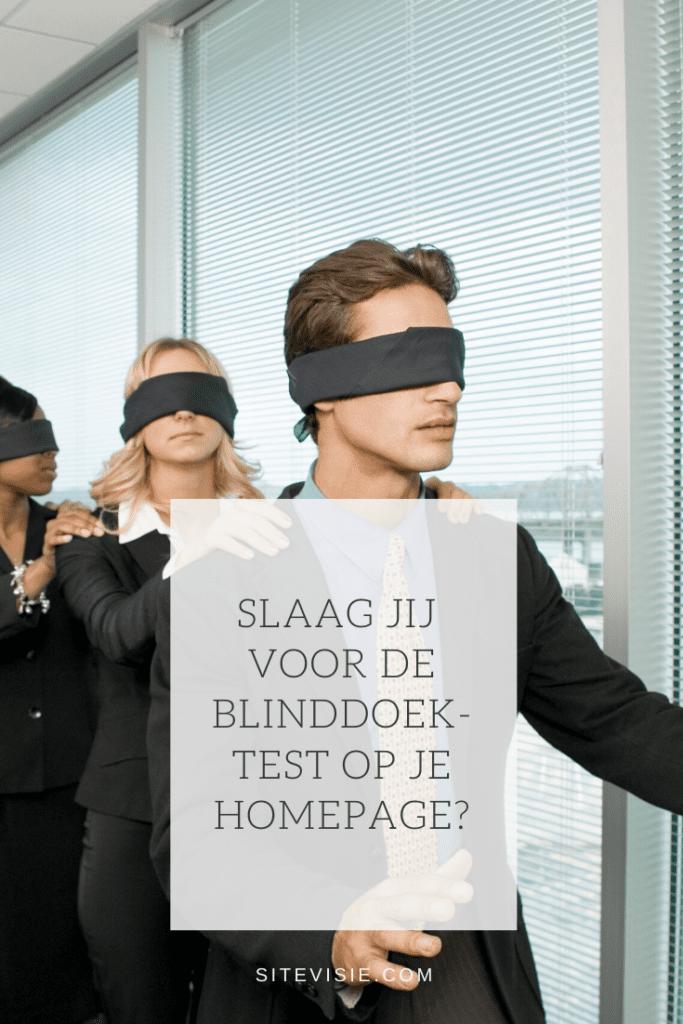 blinddoektest homepage